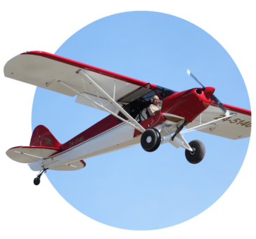 Martyn Smith Flying the Sports Cub at Aldinga Airfield